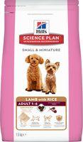 """Корм сухой для собак """"Small and Miniature"""" (1,5 кг; ягненок и рис)"""
