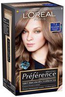 """Краска для волос """"Preference"""" (тон: 7.1, Исландия пепельно-русый)"""