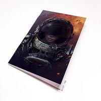 """Блокнот """"Космонавт"""" (А5; арт. 856)"""