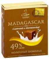 "Шоколад молочный ""O'Zera. Madagascar"" (90 г)"