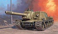 """САУ """"ISU-152"""" (масштаб: 1/72)"""