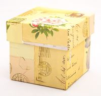 "Подарочная коробка ""Letters"" (7,5х7,5х7,5 см)"