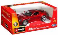 """Модель машины """"Bburago. Diamond. Alfa Romeo 8C"""" (масштаб: 1/18)"""