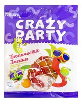 "Мармелад ""Crazy Party. Тропические змейки"" (70 г)"