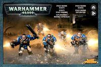 """Набор миниатюр """"Warhammer 40.000. Space Marine Scouts"""" (48-16)"""