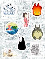 """Набор виниловых наклеек №172 """"Ghibli"""""""