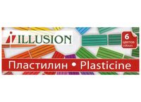 "Пластилин ""Illusion"" (6 цветов)"