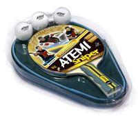 """Набор для настольного тенниса """"Sniper"""" (1 ракетка+3 мяча+чехол; 3 звезды)"""