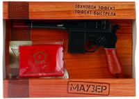 """Пистолет """"Маузер"""" (со световыми и звуковыми эффектами)"""