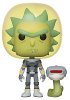 "Фигурка ""Rick and Morty. Space Suit Rick with Snake"""