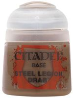 Paint Pots: Steel Legion Drab 12ml (21-17)