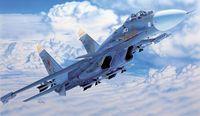 """Истребитель """"SU-27D Sea Flanker"""" (масштаб: 1/72)"""
