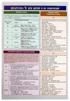 Шпаргалка 4 для детей и их родителей. Английский язык