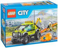 """LEGO City """"Грузовик исследователей вулканов"""""""
