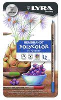 """Набор карандашей цветных """"Lyra Rembrandt Polycolor"""" (12 цветов)"""