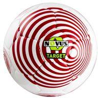 """Мяч футбольный Novus """"Target"""" №5 (бело-красный)"""