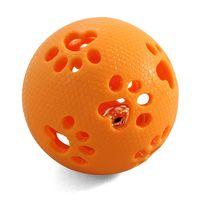 """Игрушка для собак с колокольчиком """"Мяч-лапки"""" (8 см)"""
