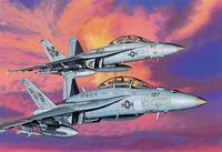 """Набор самолетов """"F/A-18F"""" (масштаб: 1/144)"""