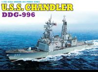 "Миноносец ""U.S.S. Chandler DDG-996"" (масштаб: 1/700)"