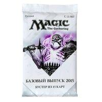 Magic the Gathering: Базовый выпуск 2015. Бустер из 15 карт (русская версия)