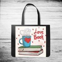 "Сумка-шоппер ""Love book"""