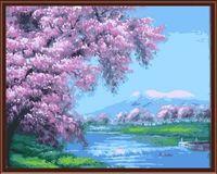 "Картина по номерам ""Цветущие сады"" (400х500 мм; арт. G113)"