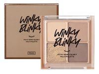 """Палетка теней для век """"Winky Blinky"""" тон: 01"""