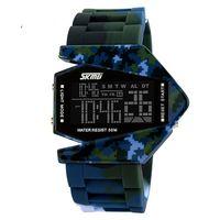 Часы наручные (камуфляжные синие; арт. SKMEI 0817BM-2)