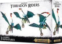 Warhammer Age of Sigmar. Seraphon. Terradon Riders (88-13)