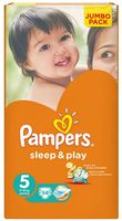 "Подгузники ""Pampers Sleep&Play Chamomile Junior"" (11-18 кг, 58 шт)"