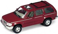 """Модель машины """"Welly. Ford Explorer"""" (масштаб: 1/34-39)"""