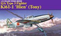 """Истребитель """"IJA Type 3 Fighter Ki61-1 Hien (Tony) """" (масштаб: 1/72)"""