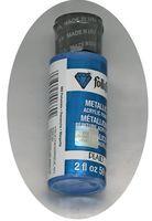 "Краска акриловая ""FolkArt. Metallic"" (синий барвинок, 59 мл; арт. PLD-00669)"