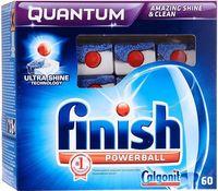 Таблетки для посудомоечных машин FINISH Quantum (60 шт)