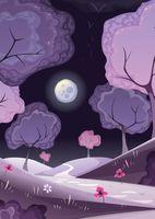 """Открытка """"Таинственный лес"""""""