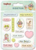 """Наклейки эпоксидные """"Kids' Fun"""""""
