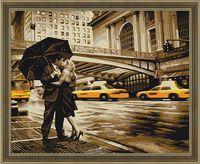 """Картина по номерам """"Романтика Нью-Йорка"""" (400х500 мм)"""