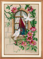 """Вышивка крестом """"На крыльях любви"""" (210х280 мм; арт. 1047В)"""