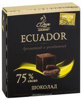 """Шоколад горький """"O'Zera. Ecuador"""" (90 г)"""