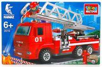 """Конструктор """"Камаз. Пожарная машина с лестницей"""" (126 деталей)"""