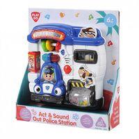 """Развивающая игрушка """"Полицейский участок"""" (со световыми эффектами)"""