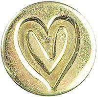 """Сменная насадка для восковой печати """"Сердце"""" (16 мм, арт. MSH727HEA)"""