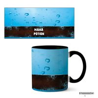 """Кружка """"Mana potion"""" (541, черная)"""