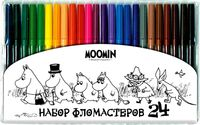 """Набор фломастеров цветных """"Муми тролль"""" (24 цвета)"""