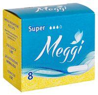"""Тампоны """"Meggi Super"""" (8 шт.)"""