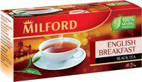 """Чай черный """"Milford. Английский завтрак"""" (20 пакетиков)"""
