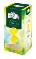 """Чай черный """"Ahmad Tea. С лимоном и лаймом"""" (25 пакетиков; саше)"""