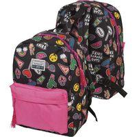 "Рюкзак ""Neon"" (17 л; чёрно-розовый)"