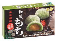 """Пирожное рисовое """"Mochi. Кокос с Панданом"""" (210 г)"""