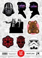 """Набор бумажных наклеек №13 """"Звездные войны"""" (арт. 0013)"""